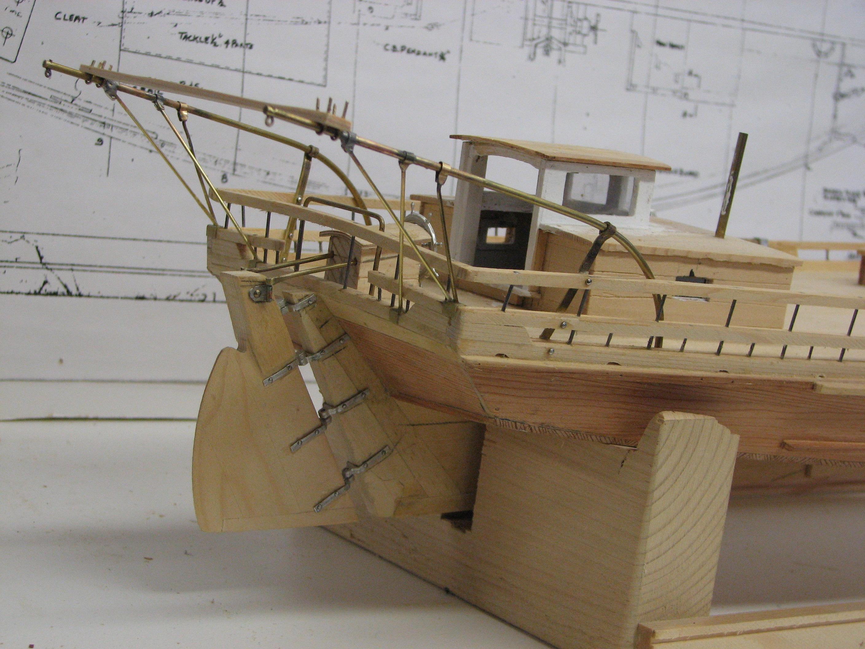 Skipjack Model – Cheaspeake Workboat Modeling